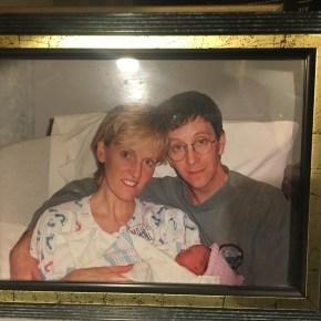Ron, Catrina, Rebecca February 9, 1999