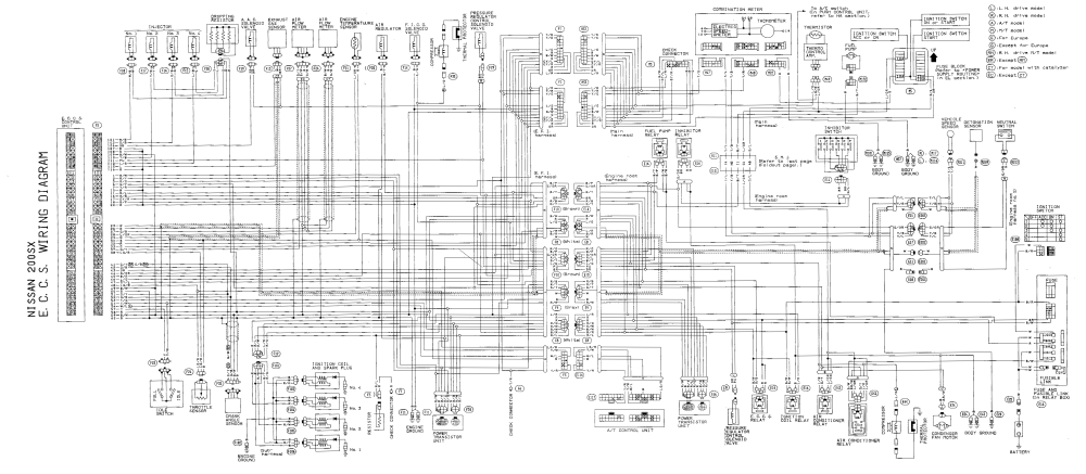 medium resolution of s13 wiring diagram wiring diagram schematics nissan altima wiring diagram pdf nissan 200sx wiring diagram