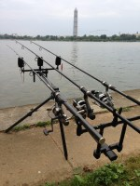 Homemade Fishing Rod Holders For Bank Fishing