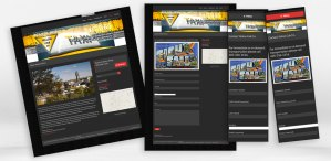 Yellow Cab responsive pages
