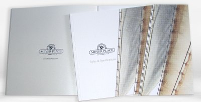 Meyer Place Spec Folder package and front cover