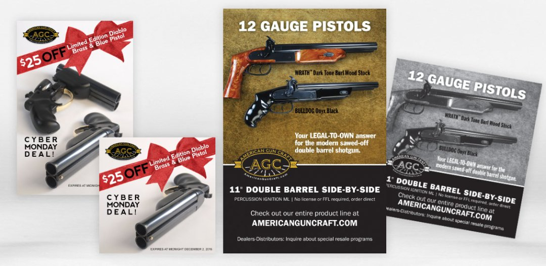 American Gun Craft Multimedia Campaign advertisements