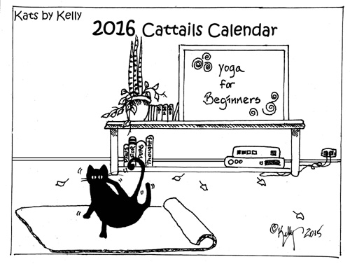 2015 Cat Calendars by Kats by Kelly