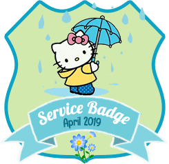 Service Badge April 2019
