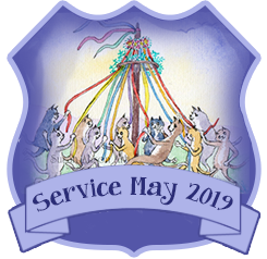 Service Badge: May 2019