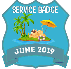 Service Badge: June 2019