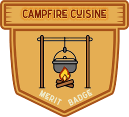 Merit Badge: Campfire Cuisine