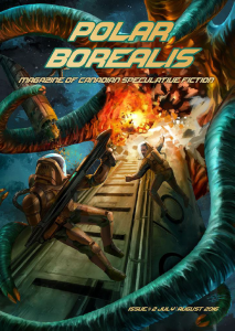 Polar Borealis #2 cover by Eric Chu publication of The Cup by Cat Girczyc