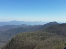 View from Albert Mnt. tower.