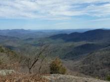 View from Big Cedar Ledges