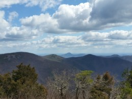 View from Cowrock Mountain.