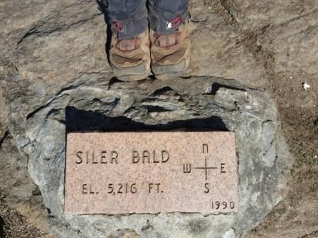 Siler Bald summit.