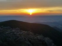 Sunset at Hawksbill Mnt.