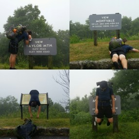 When the weather refuses to give you a view, you gotta make your own fun!