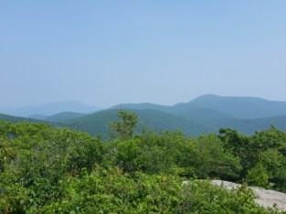Spy Rock view.