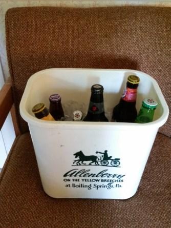 Hotel trash can or hiker trash beer cooler?