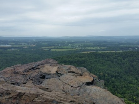 Hawk Rock view.