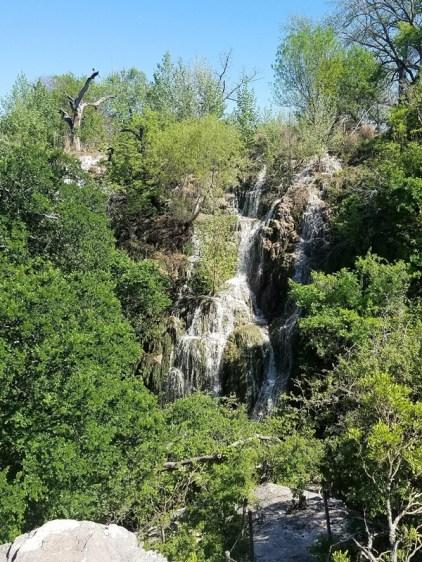 Top of Gorman Falls