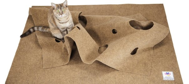 Cat activity mat