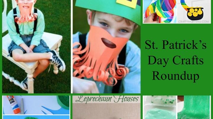 St. Patrick's Day Crafts Roundup