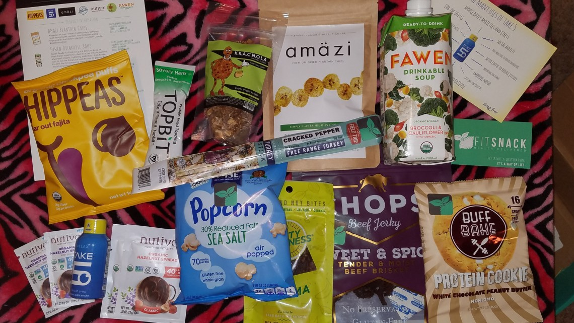 July 2017 FitSnack Unboxing