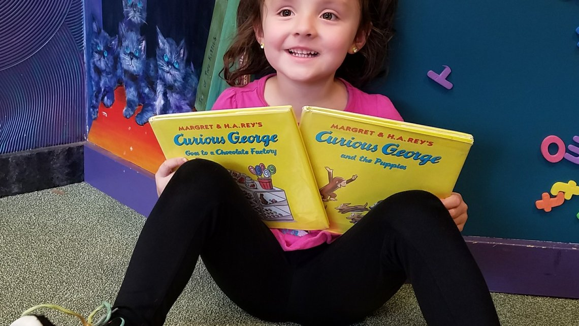 We're celebrating Curiosity Day with Curious George!