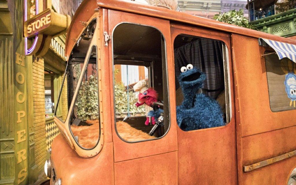 cookie monster is getting a foodie truck!