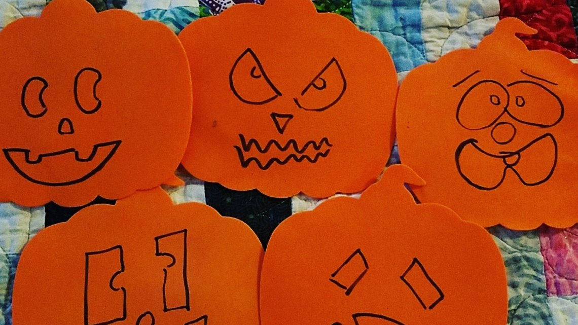 Emotional Pumpkin Faces