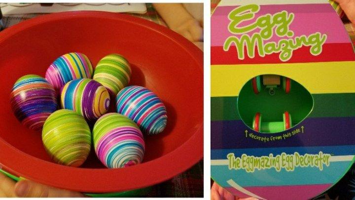 Review of EggMazing Easter Egg Decorator Kit