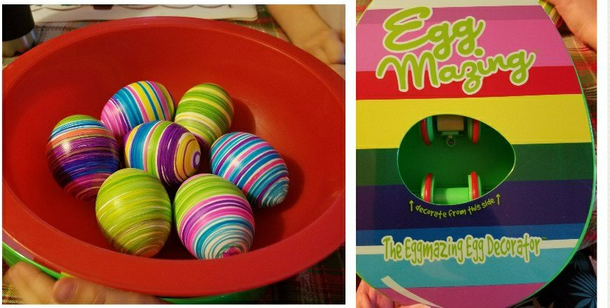 Review of EggMazing Easter Egg Decorator Kit