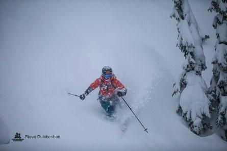 Leah Evans @ Mustang Powder / Steve Dutcheshen