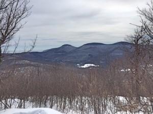 Blackhead range winter