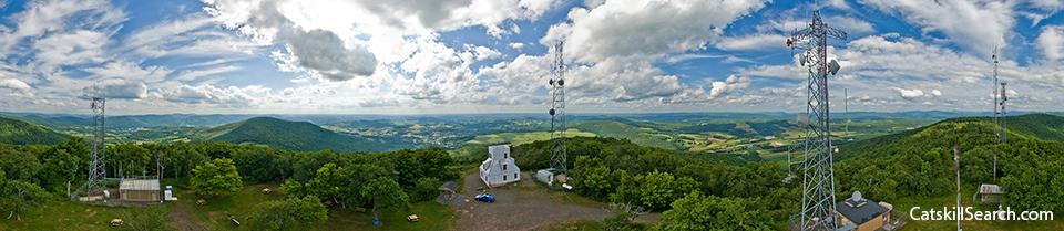 Mount Utsayantha Firetower Surrounding View 360VR