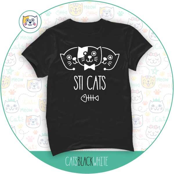 T-Shirt Sti Cats