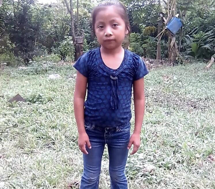 Photo of Jackelin Amei Rosemary Caal Maquin the 7 year old that died in the custody of U.S. Customs and Border Protection