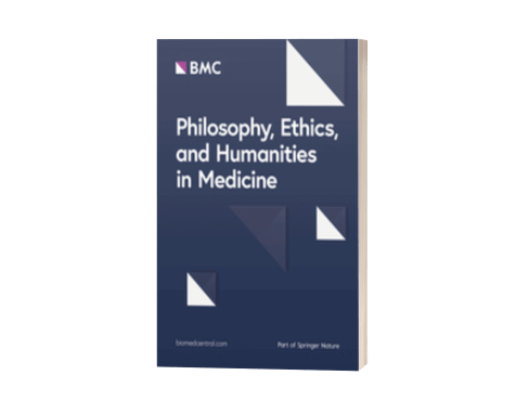 Philosophy, Ethics, and Humanities in Medicine<br>(BioMedCentral, Springer Nature, UK)