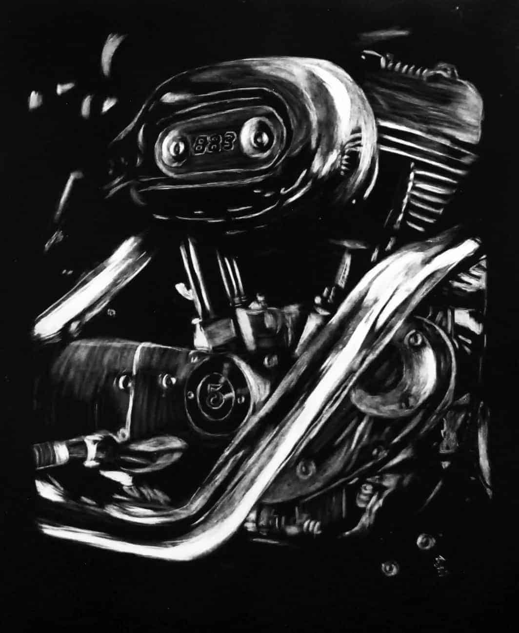 Harley 103 V-Twin engine