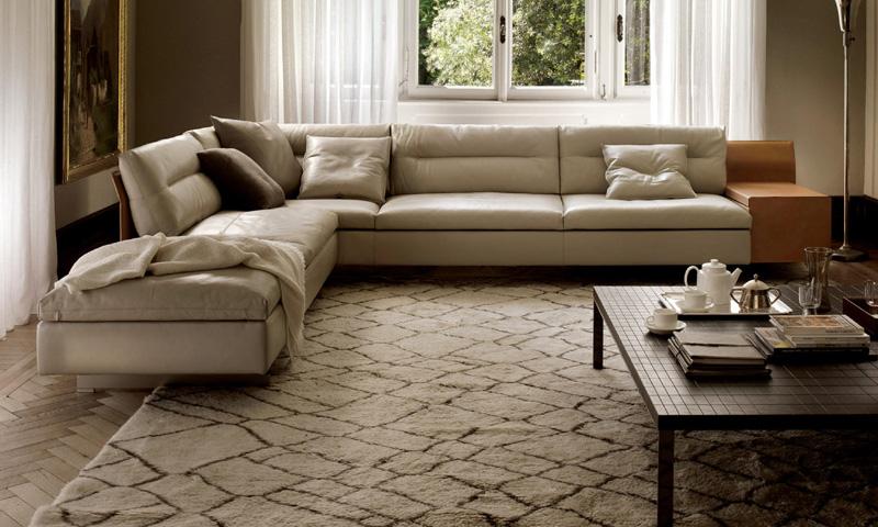poltrona e divano GranTorino di Poltrona Frau  Cattelan