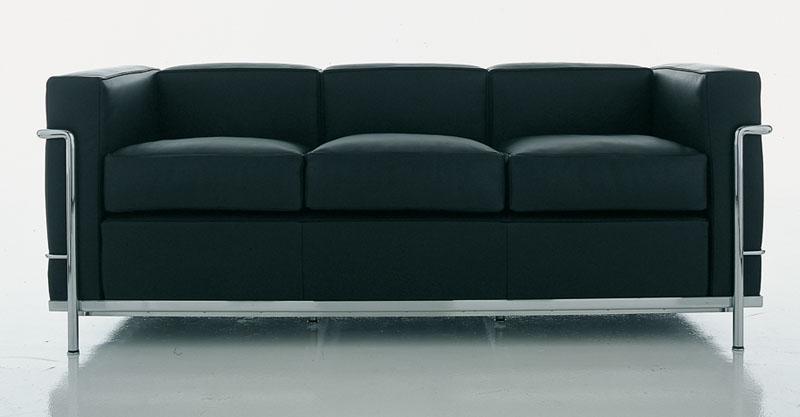 poltrone e divano Le Corbusier LC2 di Cassina  Cattelan