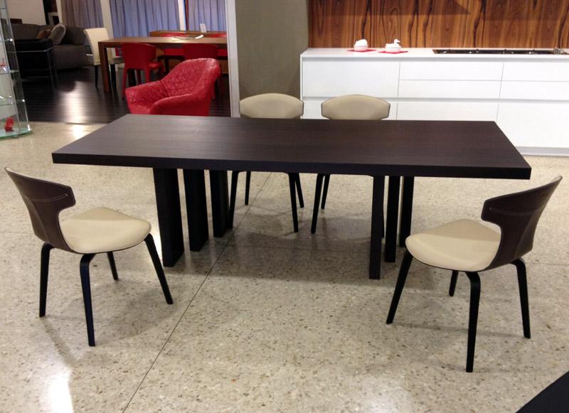 offerta 4 sedie Montera di Poltrona Frau  Cattelan Arredamenti