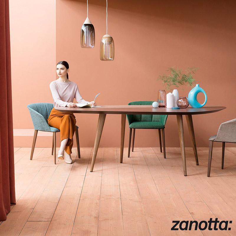 tavolo 2317 Tweed di Zanotta  Cattelan Arredamenti