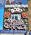 A tattoo parlour in Camden town