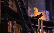 Props - the Sorting hat in Dumbledore's office