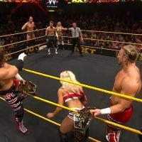 WWE NXT RESULTS: BAMF Get Dismissed, Cassie Bows Down to the Queen (June, 17th 2015)