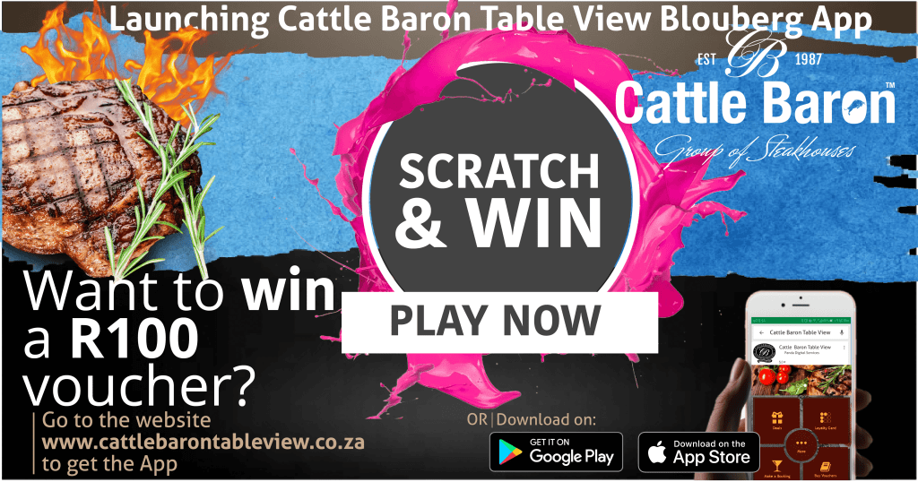 Cattle Baron TableView Blouberg Mobile APP - Cattle Baron Table View
