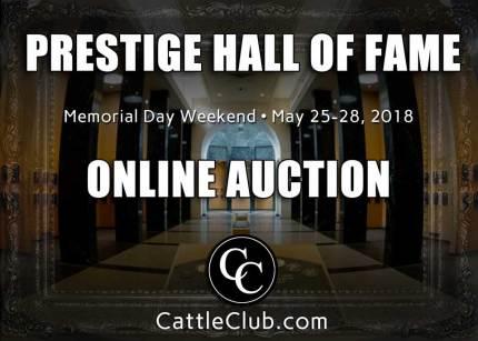 Prestige Hall of Fame - ONLINE AUCTION