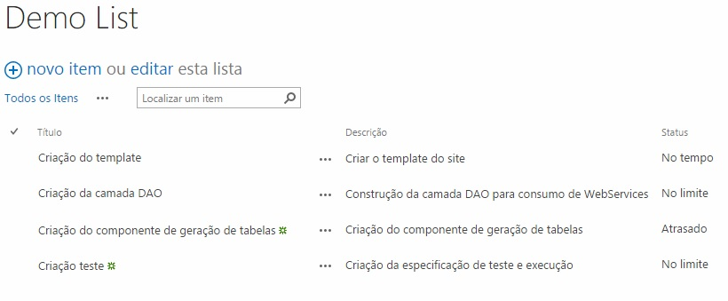 Usando JSLink no SharePoint Online/On-Premisses