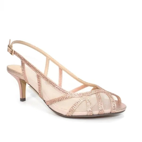 Miley Wide Fitting Sandal Rose Gold