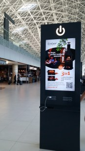 Zagreb's hip new airport and charging stations