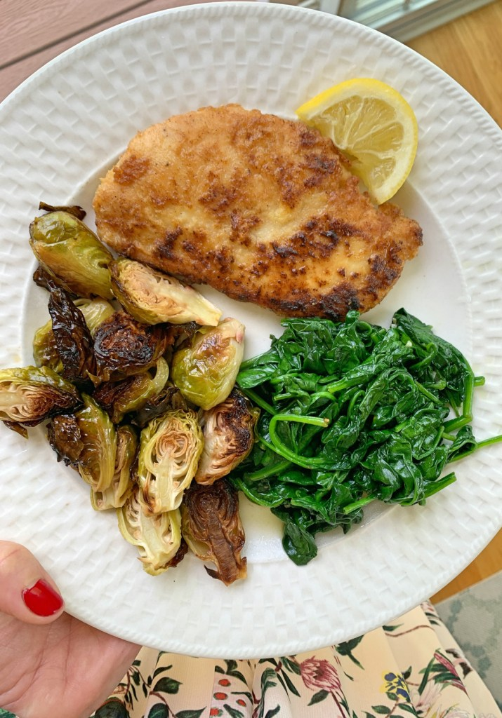 grain free chicken cutlets
